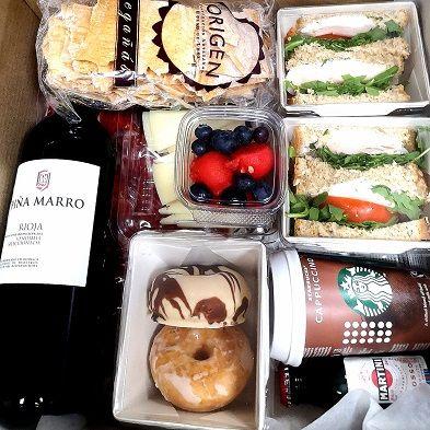 caja almuerzos empresas madrid