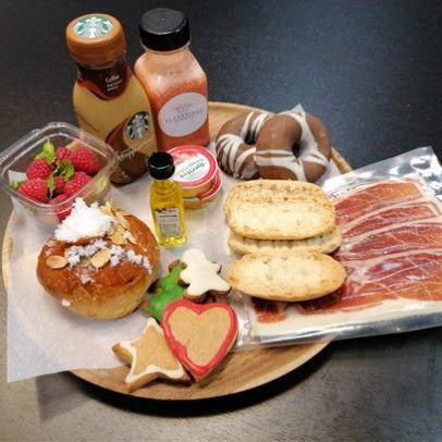 desayuno navidad con roscon madrid