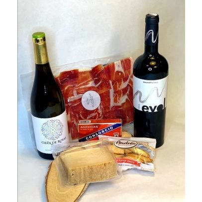 caja gourmet vinos españa