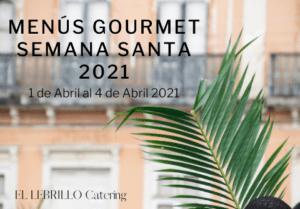 menu gourmet semana santa 2021